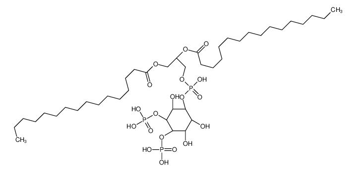 1,2-二棕榈酰-L-alpha-磷脂酰-D-Myo-肌醇 4,5-二磷酸酯