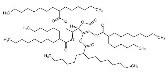 L-抗坏血酸 四(2-己基癸酸酯)图片