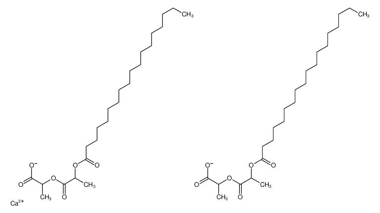calcium,2-(2-octadecanoyloxypropanoyloxy)propanoate