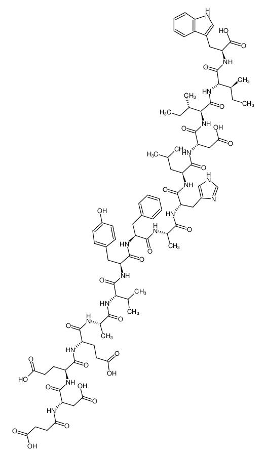 N-SUCCINYL-[GLU9,ALA11,15]-ENDOTHELIN 1 FRAGMENT 8-21圖片