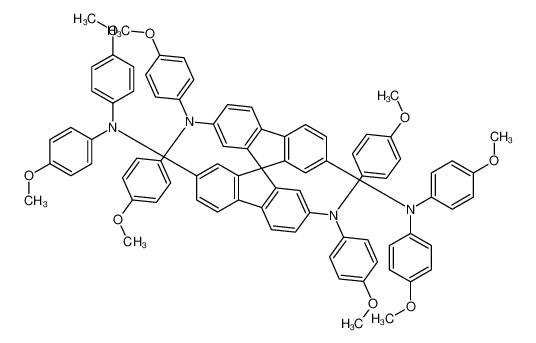 2,2',7,7'-Tetrakis(N,N-p-dimethoxyphenylamino)-9,9'- spirobifluorene