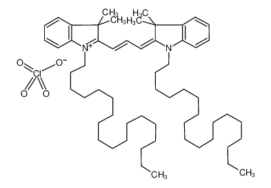1,1'-双十八烷基-3,3,3',3'-四甲基吲哚菁高氯酸盐图片