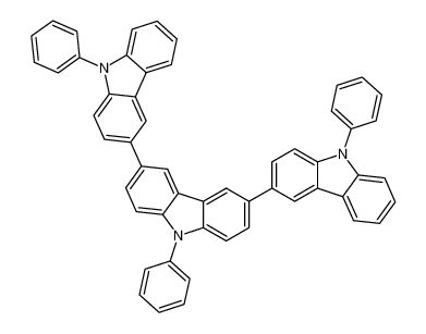 9,9',9''-triphenyl-9H,9'H,9''H-3,3':6',3''-tercarbazole