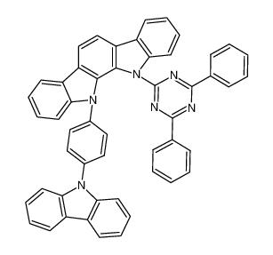 11-[4-(9H-咔唑-9-基)苯基]-12-(4,6-二苯基-1,3,5-三嗪-2-基)-11,12-二氢-吲哚并[2,3-a]咔唑