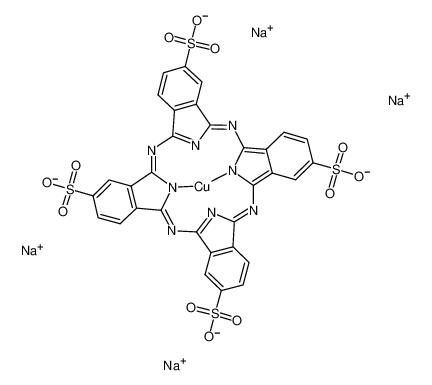 Copper(II) phthalocyanine tetrasulfonic acid tetrasodium salt