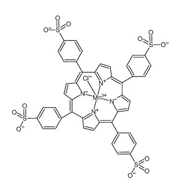 Manganate(4-), chloro[[4,4',4'',4'''-(21H,23H-porphine-5,10,15,20-tetrayl-κN21,κN22,κN23,κN24)tetrakis[benzenesulfonato]](6-)]-, hydrogen (1:4), (SP-5-12)-