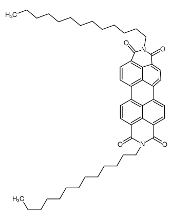 2,9-Ditridecylisoquinolino[4',5',6':6,5,10]anthra[2,1,9-def]isoqu inoline-1,3,8,10(2H,9H)-tetrone