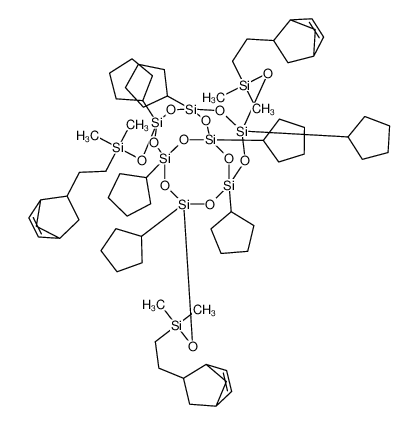 Tris[dimethyl(norbornenylethyl)silyloxy]-POSS?