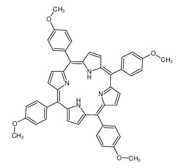 5,10,15,20-tetrakis(4-methoxyphenyl)-21,22-dihydroporphyrin