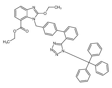 N-三苯甲基坎地沙坦乙酯
