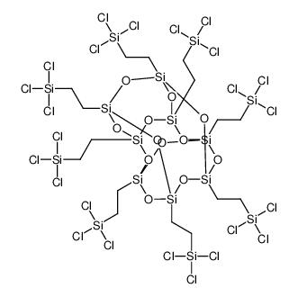 PSS-Octa(2-trichlorosilylethyl) substituted