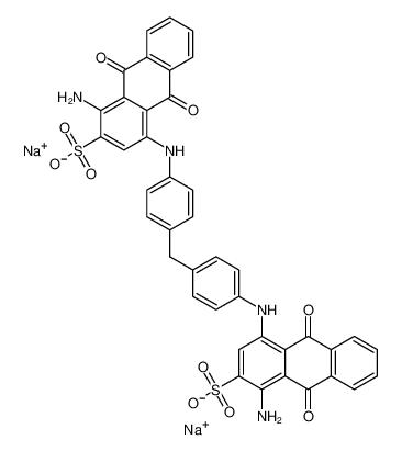 4,4-[亚甲基双(4,1-亚苯基亚氨基)]二(1-氨基-9,10-二氢-9,10-二氧代-2-蒽磺酸)二钠盐
