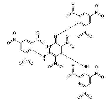 3,5-Dinitro-N<sup>2</sup>,N<sup>6</sup>-bis(2,4,6-trinitrophenyl)-N<sup>4</sup>-(2,4,6-trinitro-3-pyridinyl)-2,4,6-pyridinetriamine