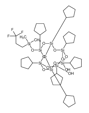 [[Dimethyl(trifluoromethyl)ethyl]silyloxy]heptacyclopentyltricycloheptasiloxanediol