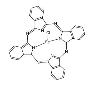 氯酞菁铁 (III)