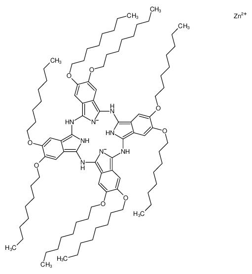 zinc-2,3,9,10,16,17,23,24-octakis-(octyloxy)-29H,31H-phthalocyanine