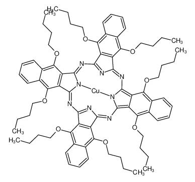 5,9,14,18,23,27,32,36-八丁氧基-2,3-萘酞菁铜(II)