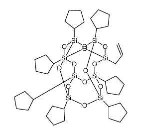 PSS-烯丙基-七环戊基取代