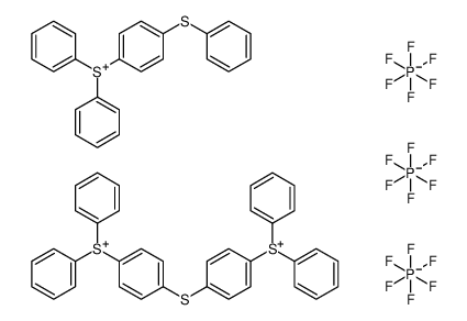 diphenyl-(4-phenylsulfanylphenyl)sulfanium,[4-(4-diphenylsulfoniophenyl)sulfanylphenyl]-diphenylsulfanium,trihexafluorophosphate