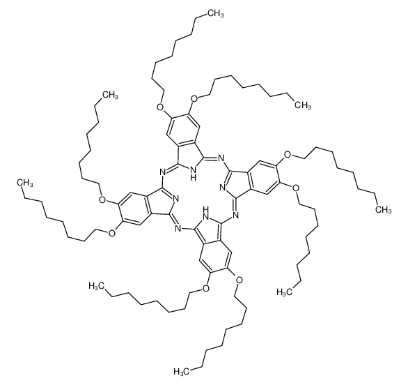 2,3,9,10,16,17,23,24-八辛氧基-29H,-31H-酞菁染料
