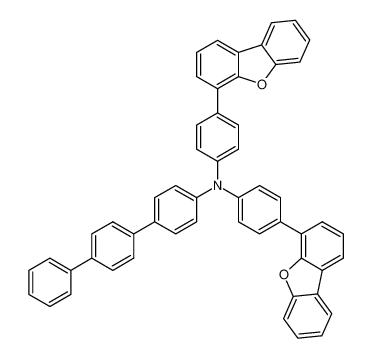 N,N-bis(4-(dibenzo[b,d]furan-4-yl)phenyl)-[1,1':4',1''-terphenyl]-4-amine