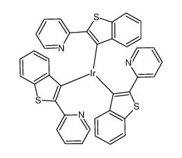 三[2-(苯并[b]噻吩-2-基)吡啶-C3,N]铱(III)