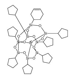 PSS-(3-环己基)-七环戊基取代