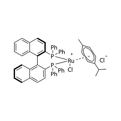 Chloro[(R)-(+)-2,2'-bis(diphenylphosphino)-1,1'-binaphthyl](p-cymene)ruthenium(II) chloride 98.3