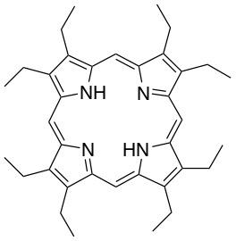 2,3,7,8,12,13,17,18-octaethyl-21,22-dihydroporphyrin 97%