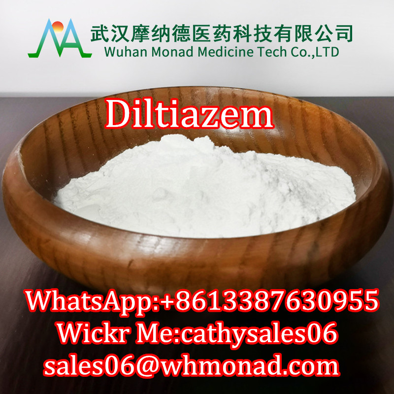 Factory price Diltiazem with large stock CAS: 42399-41-7 99%