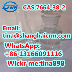 High purity factory supply Phosphoric Acid CAS 7664-38-2 with lowest price 99%